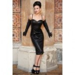 Leather Look Dress From Stop Staring!